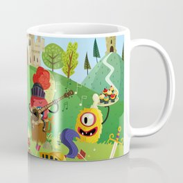 the medieval adventure Coffee Mug