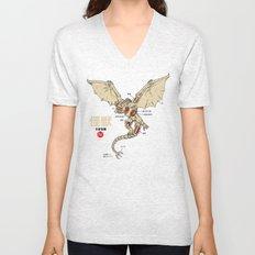 Kaiju Anatomy 2 Unisex V-Neck