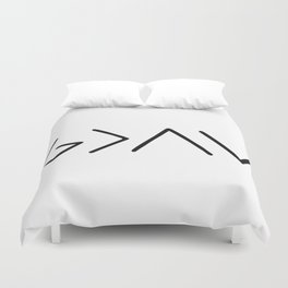 God Is Greater Than Your Ups And Downs Duvet Cover