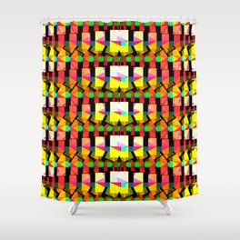Polyverberations deux, 2260g Shower Curtain