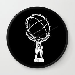 Atlas // Black Wall Clock