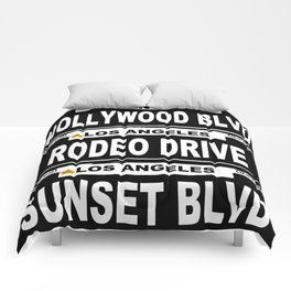 Los Angeles California Comforters