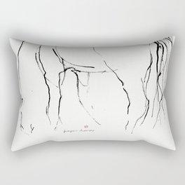 Horse (Pasturing) Rectangular Pillow