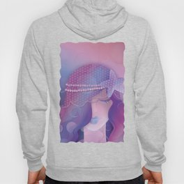 Mermaid IV - Pink Violet Princess Hoody