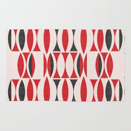 Seventies in Cherry Red (little) Rug