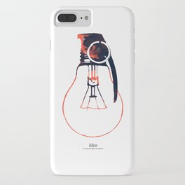 Idea Bomb (2) iPhone Case