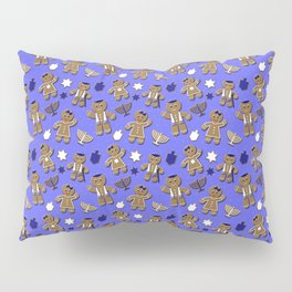 Hanukkah Gingerbread Pillow Sham
