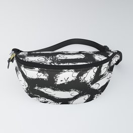 Ink and pen pigs Fanny Pack