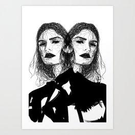 I am... Art Print