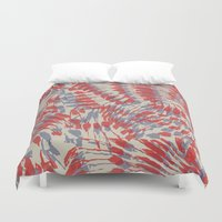 iggy Duvet Covers featuring Iggy Palms by Gukuuki Studio
