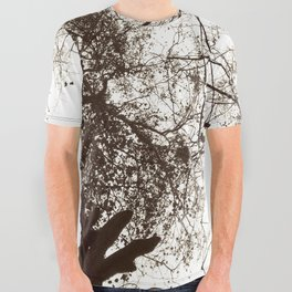 Memories of Endor 1 (B&W) All Over Graphic Tee