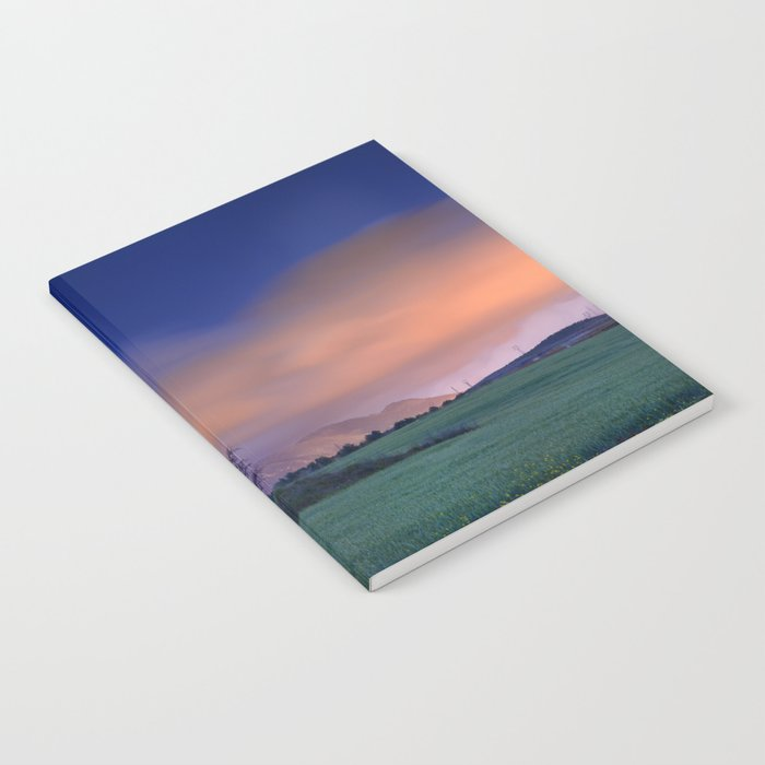 """Blue night"" Notebook"