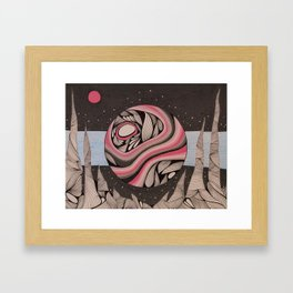 The View From Here Framed Art Print