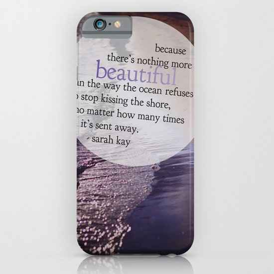 the ocean. iPhone & iPod Case