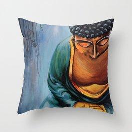 Buddha Nirvana I Throw Pillow