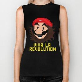 viva la revolution Biker Tank