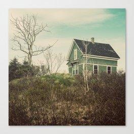 The Green Farmhouse Canvas Print