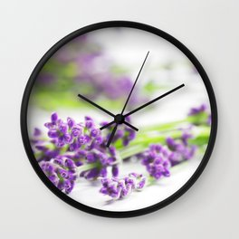 Lavender scent for your Home Design Wall Clock