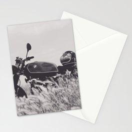 Scrambler photography, motorcycle lovers, motorbike, café racer, cafe racer, man cave gift Stationery Cards