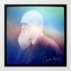 Heart Of Stone. Darwin. 1809-1882. Canvas Print