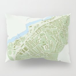 Map of the people's republic of Majorna Pillow Sham