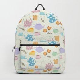 Breakfast Lunch Coffee Backpack
