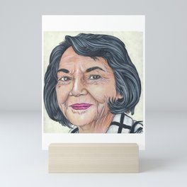 Dolores Huerta Mini Art Print