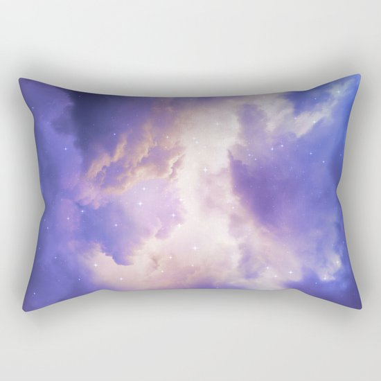 The Skies Are Painted III Rectangular Pillow