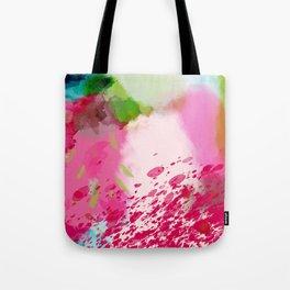 pink landscape Tote Bag