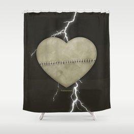 Mary Shelley's Frankenstein - Minimalist literary design, literary gift, bookish gift, illustration  Shower Curtain