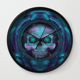 Scuba Skull Wall Clock