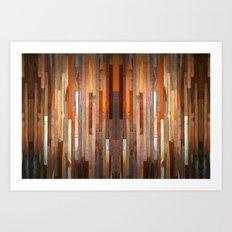 Wood Texture 1C Art Print