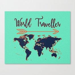 World Traveller Canvas Print