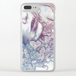 Ornaments: Rainbow Clear iPhone Case