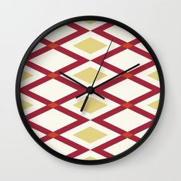 Zig & Zag Wall Clock