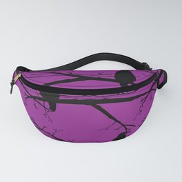 Ravens - black and purple Fanny Pack