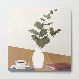 Vase Design 4 Metal Print