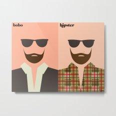 la barbe Metal Print