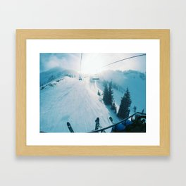 On the Way Up Framed Art Print