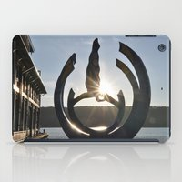saturn iPad Cases featuring Saturn  by Adrian Phoenix