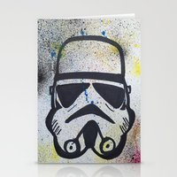 trooper Stationery Cards featuring Trooper by Cyndi Sabido