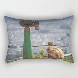 Arashiyama Monkey Rectangular Pillow