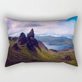 Moon Rise Rectangular Pillow