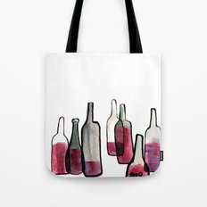 Wine Bottles 2 Tote Bag