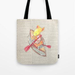 Mouse Up Paper Creek Tote Bag