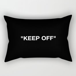 Keep Off Rectangular Pillow