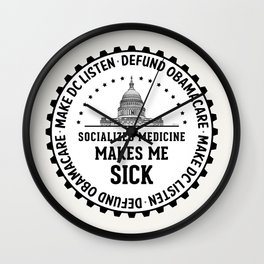 Make DC Listen Wall Clock