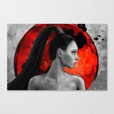 Red Warrior Canvas Print