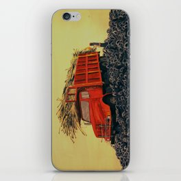 sugar cane and truck on fire iPhone Skin