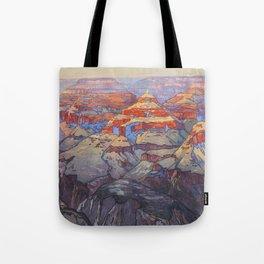 Grand Canyon Hiroshi Yoshida Vintage Japanese Woodblock Print Tote Bag